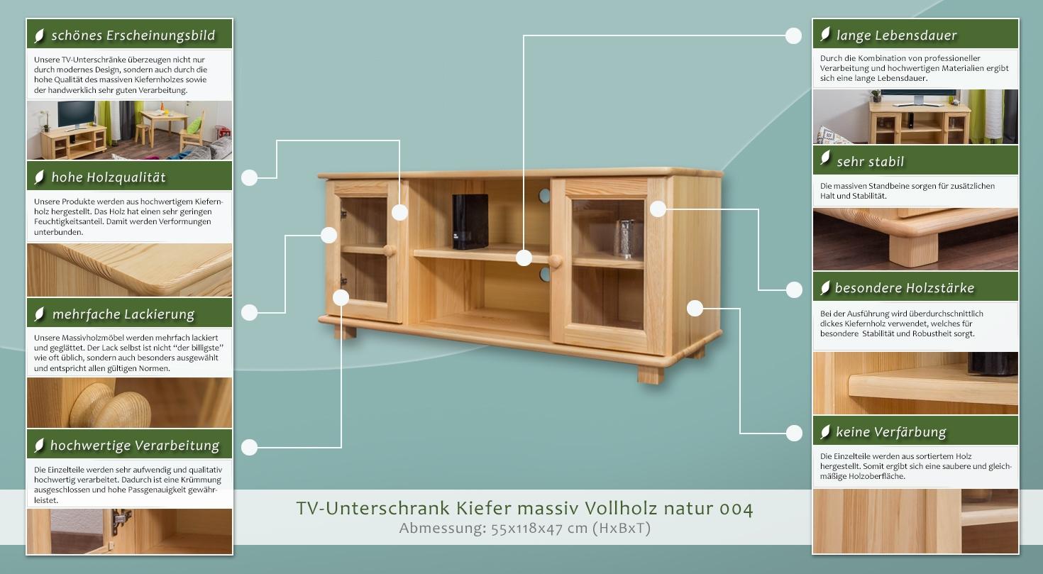 fernsehunterschrank 004 55 x 118 x 47 cm h x b x t. Black Bedroom Furniture Sets. Home Design Ideas