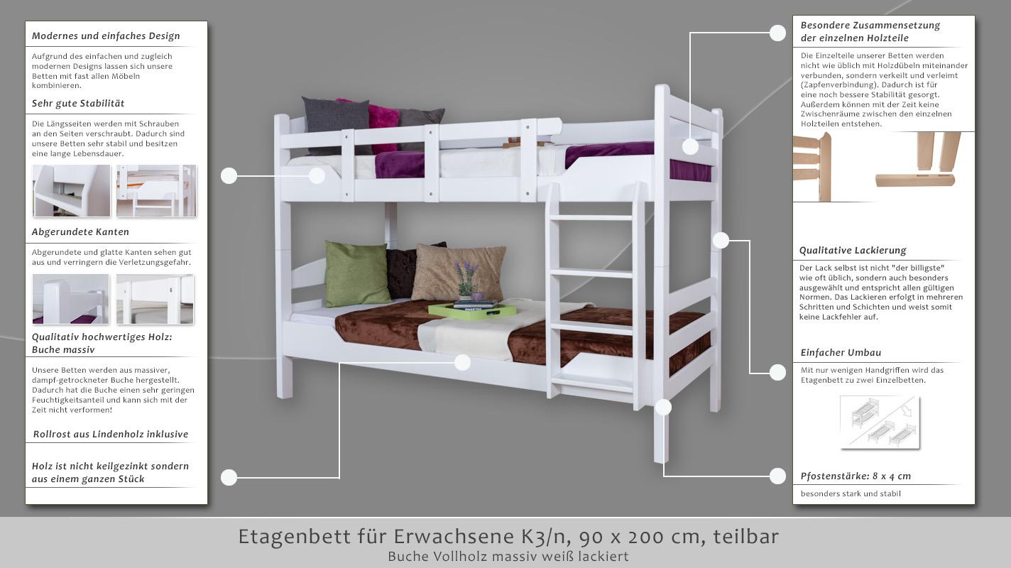 Etagenbett Für Zwei : Die perfekte lösung fürs kinderzimmer etagenbett l form infanskids