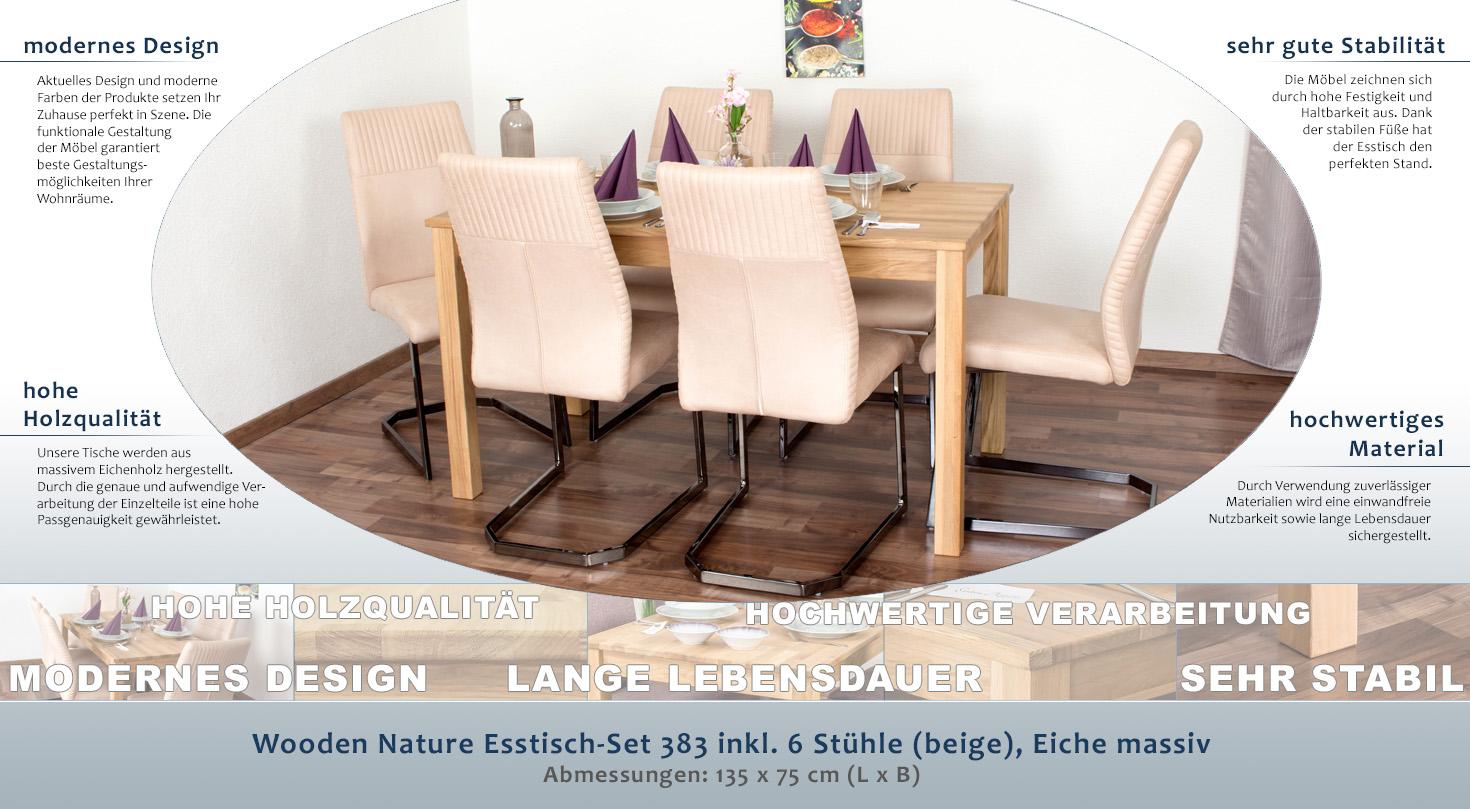 Fesselnde Esstisch Stühle Beige Das Beste Von Zum Vergrößern Auf Das Bild Klicken!