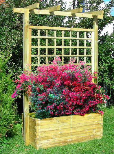blumenkasten sichtschutz pflanzen bd blumenkasten mit rankgitter. Black Bedroom Furniture Sets. Home Design Ideas