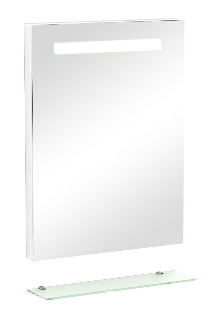 Spiegel Mit Beleuchtung Und Ablage : ... Sanotechnik Spiegel mit indirekter Beleuchtung und Ablage 60 x 80 cm