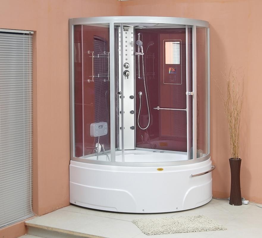 Sanotechnik Whirlpool und Dampfdusch Kombination Orlando - Ausführung: ohne Whirlpoolsystem