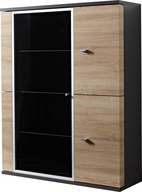 wohnwand anthrazit preisvergleiche erfahrungsberichte und kauf bei nextag. Black Bedroom Furniture Sets. Home Design Ideas