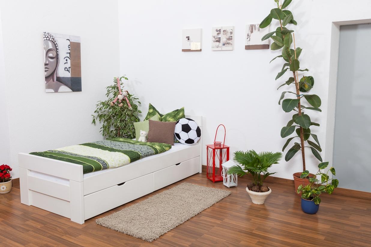 stauraumbett preisvergleiche erfahrungsberichte und. Black Bedroom Furniture Sets. Home Design Ideas