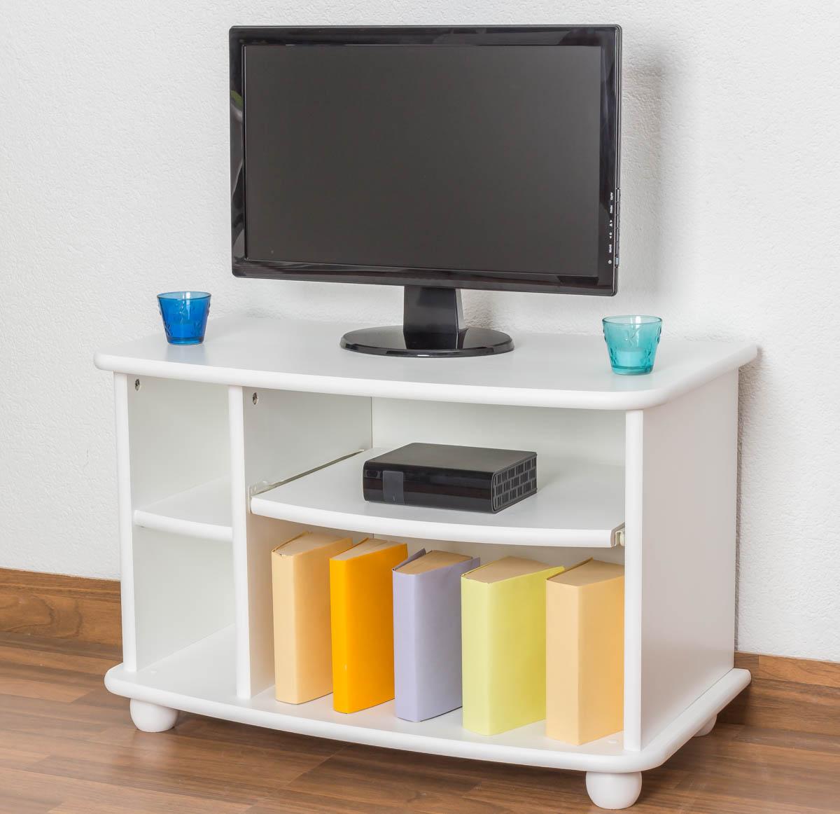 tv m bel massiv wei. Black Bedroom Furniture Sets. Home Design Ideas