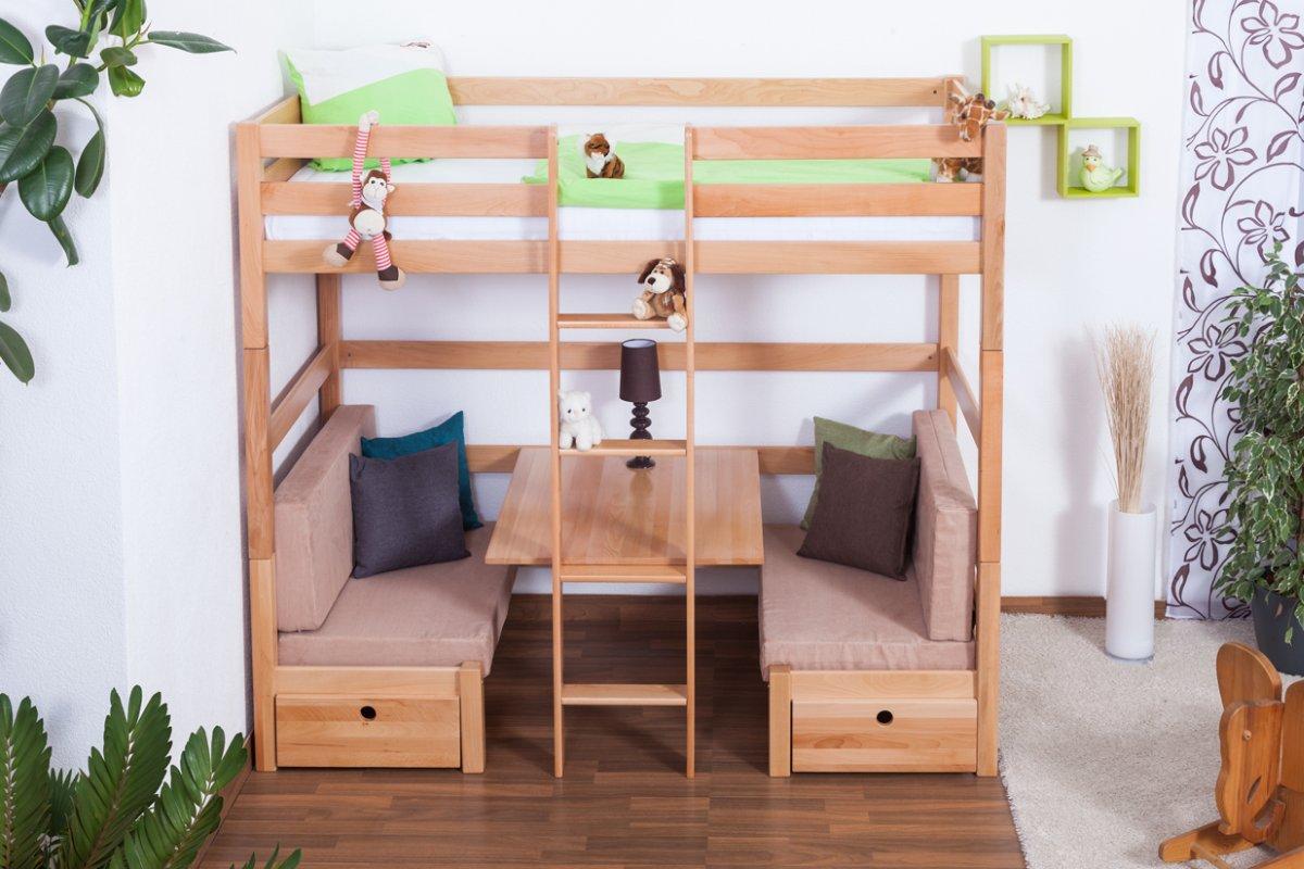 hochbett umbaubar preisvergleiche erfahrungsberichte. Black Bedroom Furniture Sets. Home Design Ideas