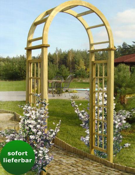 Rosenbogen Holz Kesseldruckimprägniert ~ shopping bd rosenbogen passiflora abmessung 120 x 60 x 2 rosenbogen