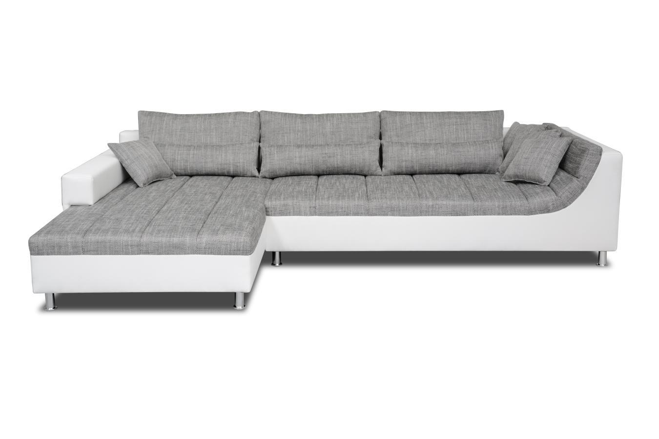 ecksofa weiss grau preisvergleiche erfahrungsberichte und kauf bei nextag. Black Bedroom Furniture Sets. Home Design Ideas