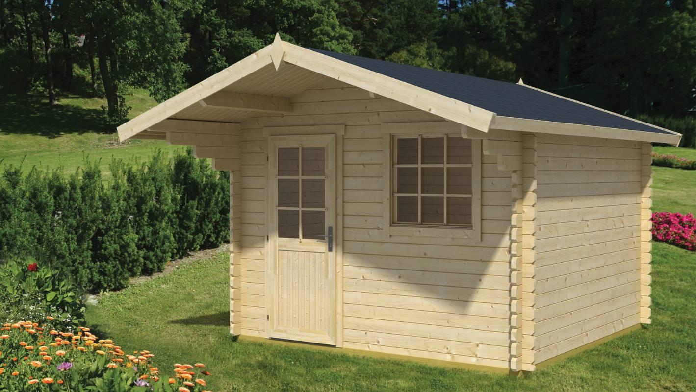 gartenhaus 44mm preisvergleiche erfahrungsberichte und kauf bei nextag. Black Bedroom Furniture Sets. Home Design Ideas