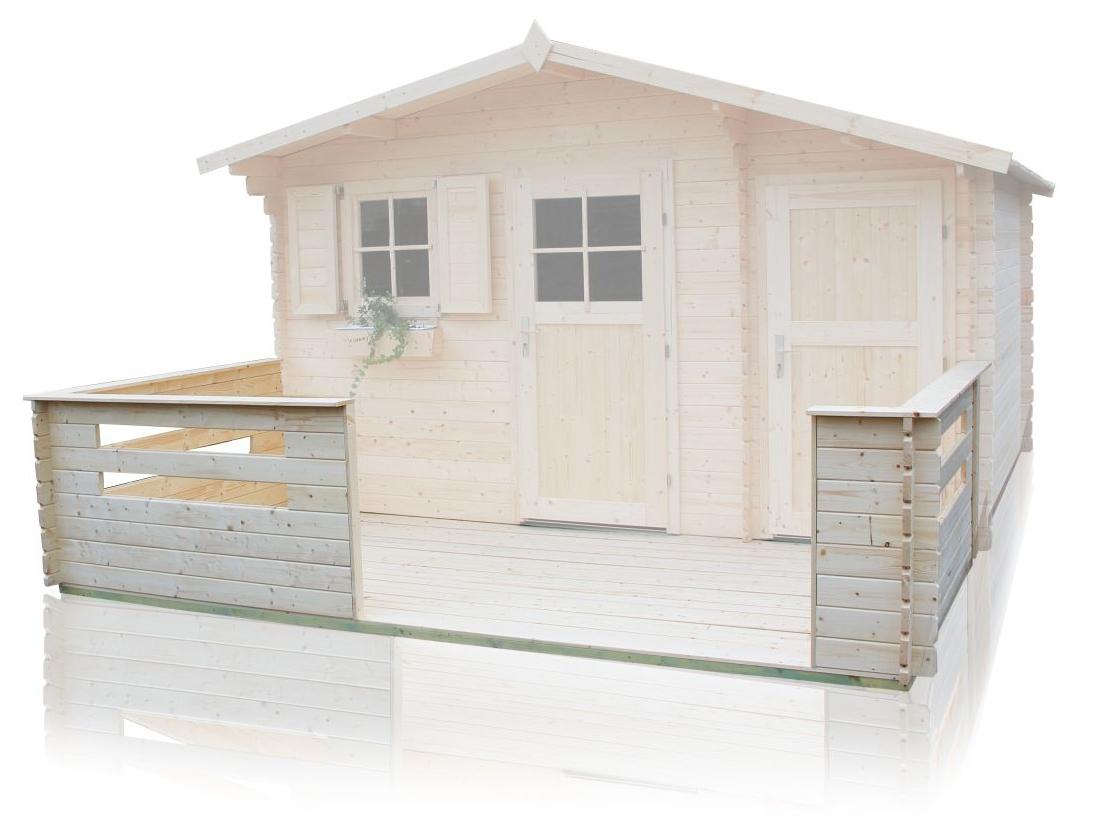 blockbohlen gartenhaus 28mm. Black Bedroom Furniture Sets. Home Design Ideas