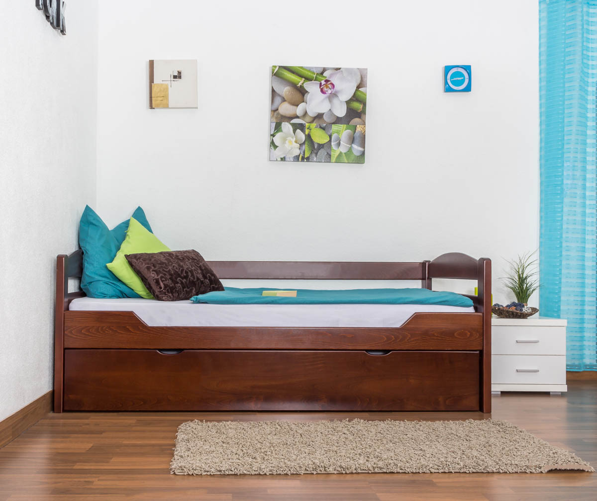 bett mit unterbett preisvergleiche erfahrungsberichte. Black Bedroom Furniture Sets. Home Design Ideas