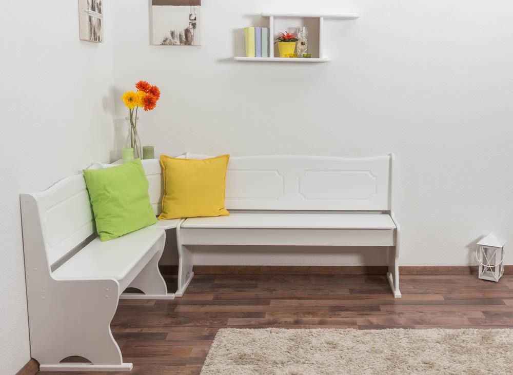 weisse eckbank holz sonstige preisvergleiche erfahrungsberichte und kauf bei nextag. Black Bedroom Furniture Sets. Home Design Ideas