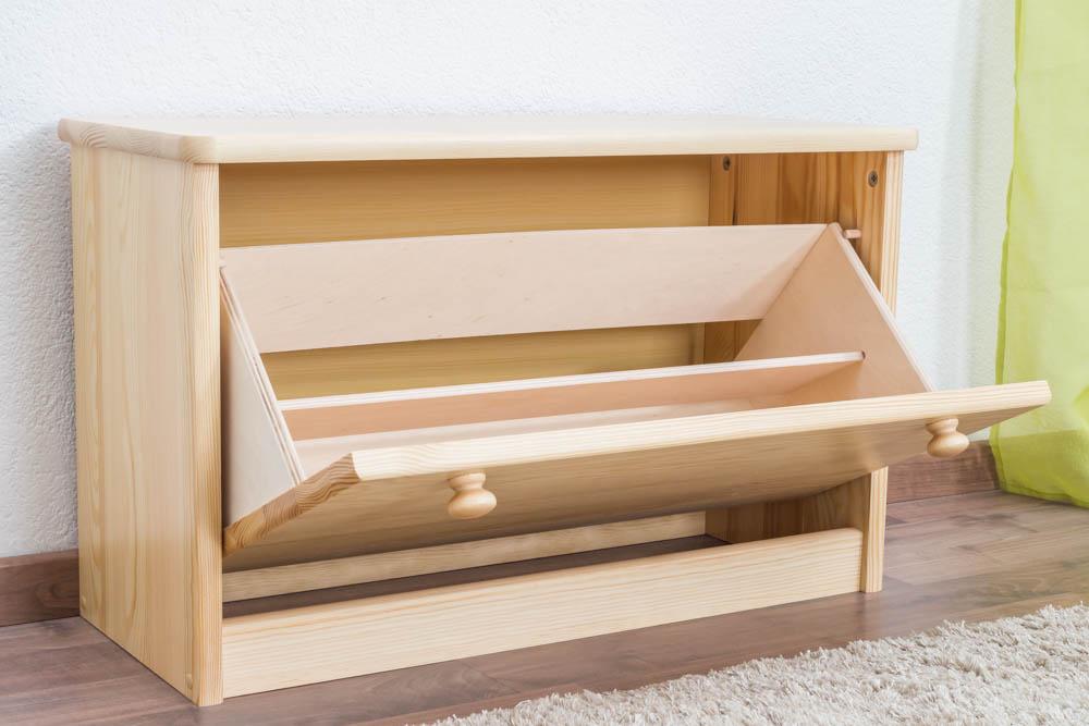 schuhschrank natur. Black Bedroom Furniture Sets. Home Design Ideas