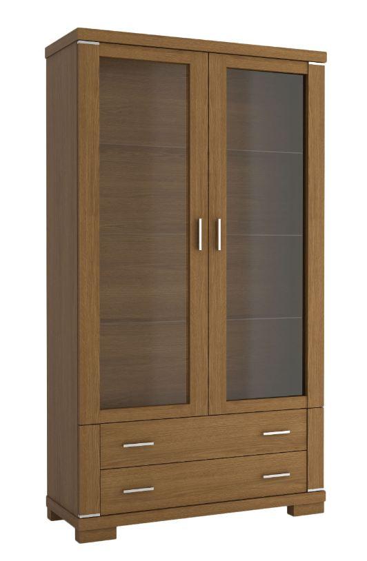 vitrine eiche rustikal preisvergleiche erfahrungsberichte und kauf bei nextag. Black Bedroom Furniture Sets. Home Design Ideas