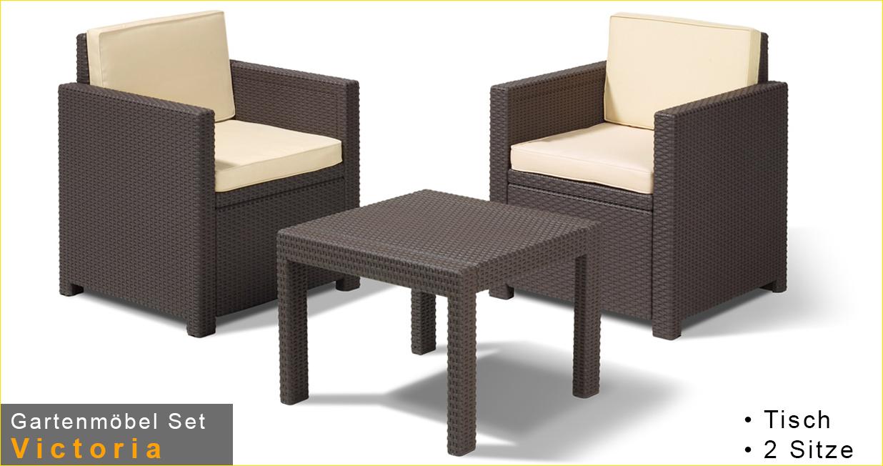 gartenmoebel rattan set preisvergleiche. Black Bedroom Furniture Sets. Home Design Ideas