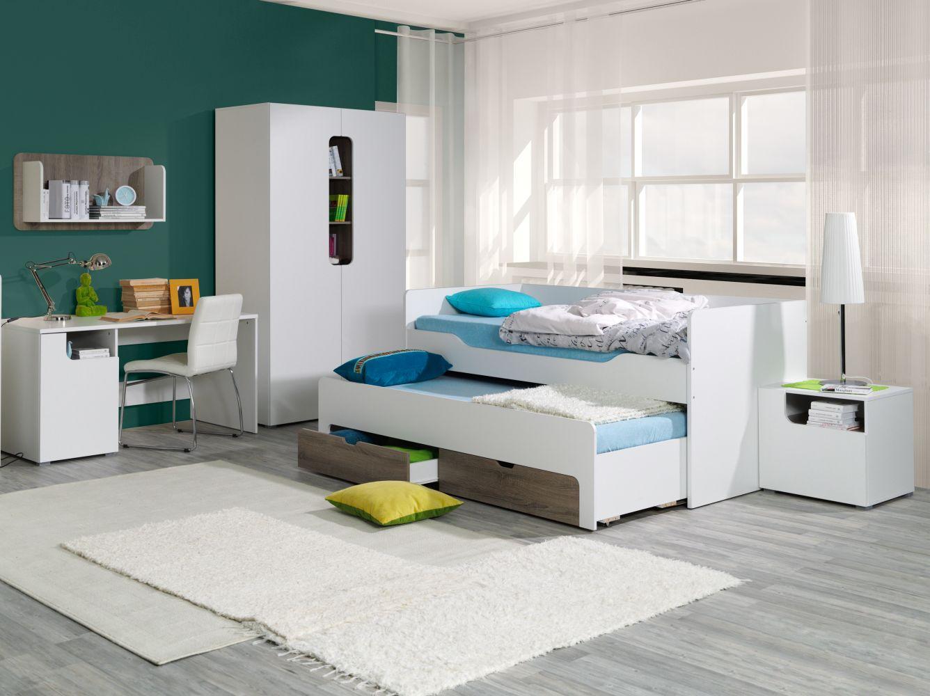 jugendbett mit bettkasten preisvergleiche. Black Bedroom Furniture Sets. Home Design Ideas