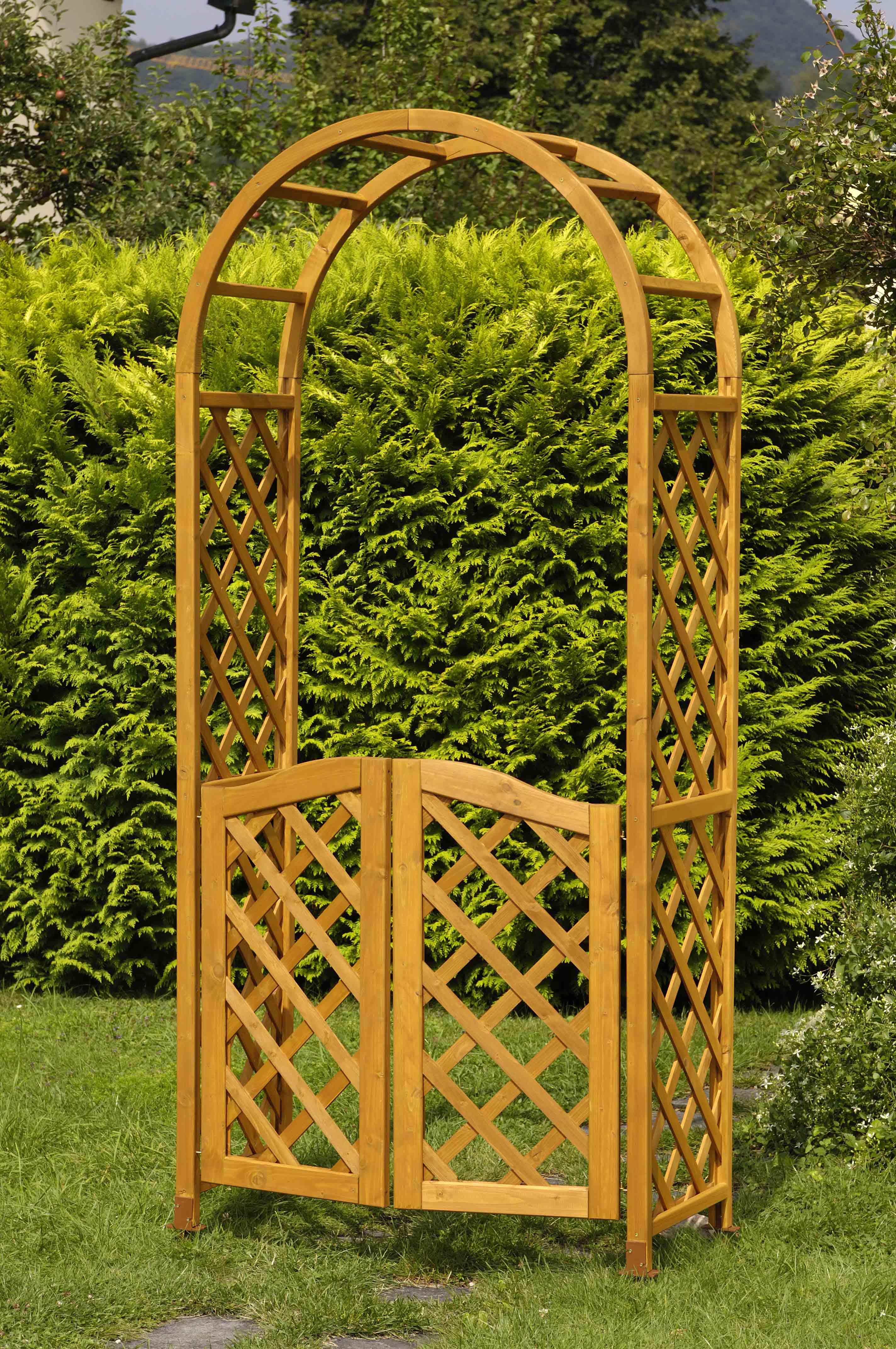 rosenbogen holz rosenbogen holz holzilein klopfer blog. Black Bedroom Furniture Sets. Home Design Ideas