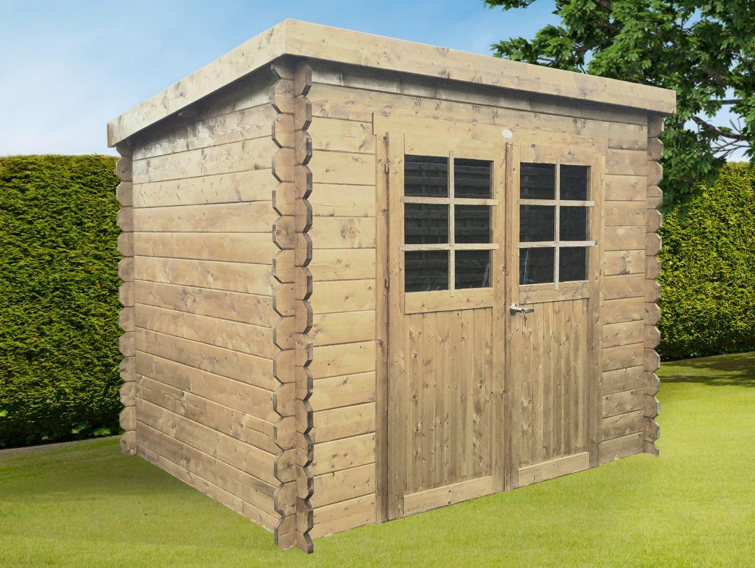 pultdach gartenhaus machen sie den preisvergleich bei nextag. Black Bedroom Furniture Sets. Home Design Ideas