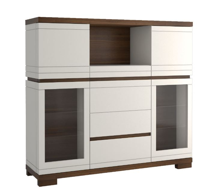 highboard 150 cm sonstige preisvergleiche. Black Bedroom Furniture Sets. Home Design Ideas