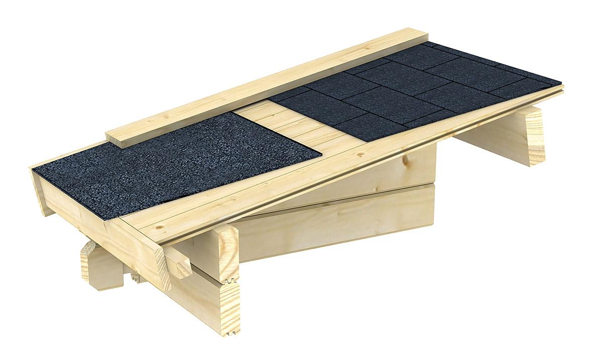 gartenhaus g12 34 mm blockbohlenhaus grundfl che 15 20. Black Bedroom Furniture Sets. Home Design Ideas