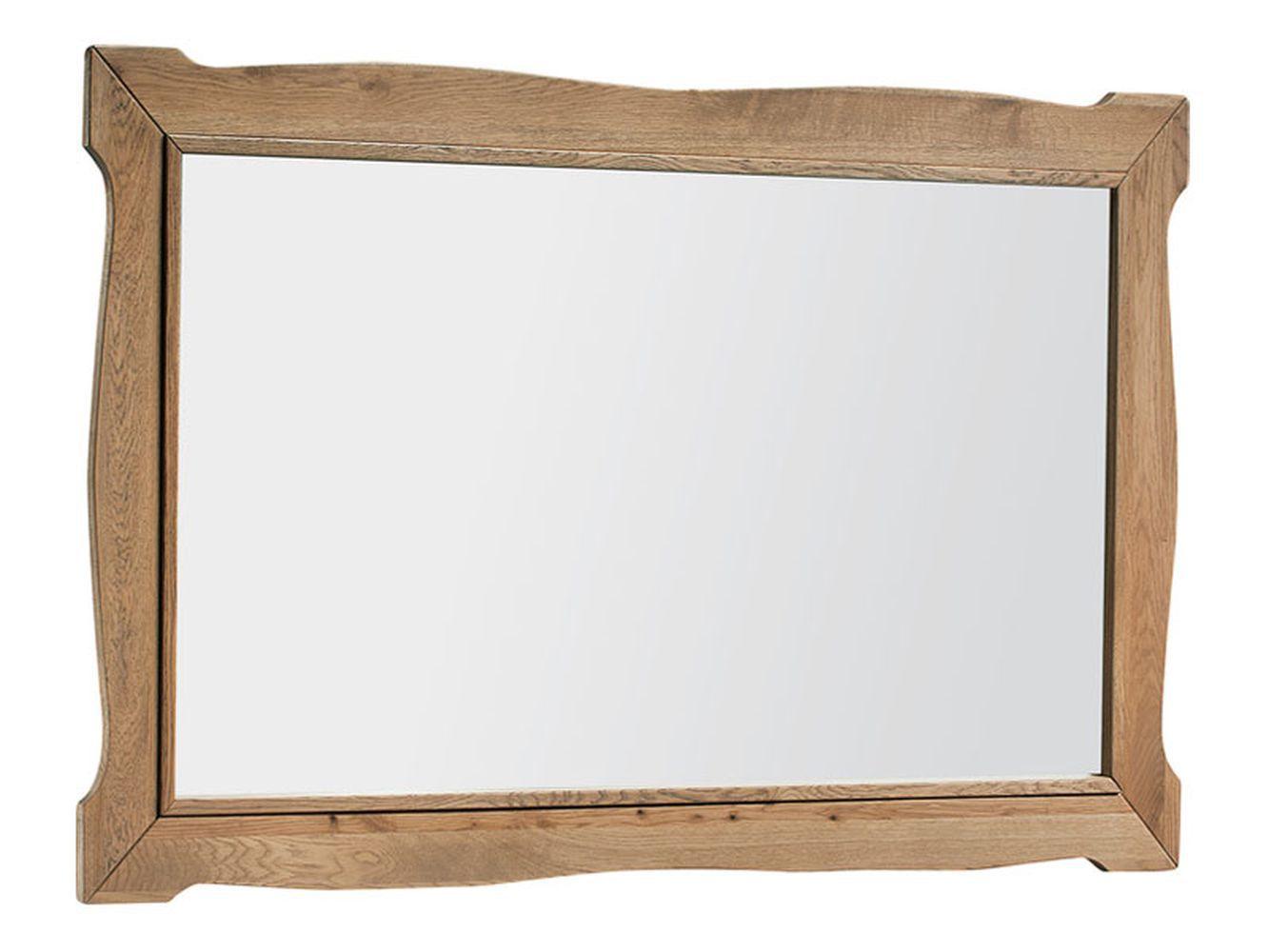"""Spiegel """"Travos"""" Eiche natur  - 75 x 110 x 4 cm (H x B x T)"""