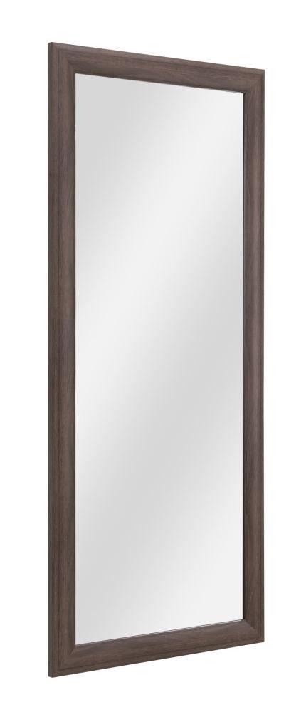 Spiegel Balmaseda 04, Farbe: Nuss - 113 x 50 x 2 cm (H x B x T)