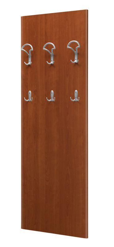 Garderobe Tudela 05, Farbe: Kirsche - 149 x 50 x 7 cm (H x B x T)