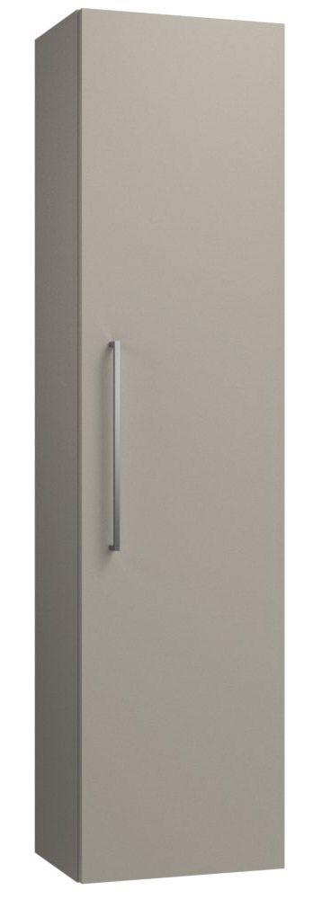 Badezimmer - Hochschrank Noida 45, Farbe: Beige – 138 x 35 x 25 cm (H x B x T)