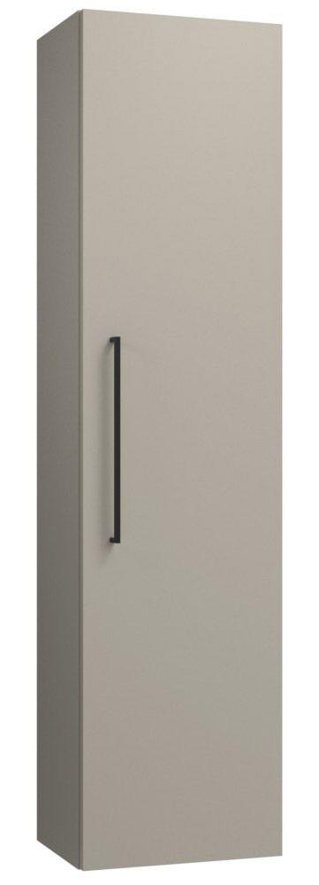 Badezimmer - Hochschrank Noida 46, Farbe: Beige – 138 x 35 x 25 cm (H x B x T)