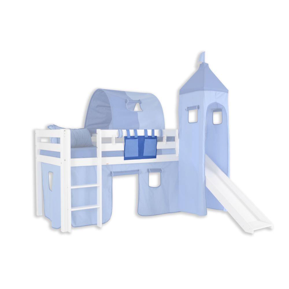 Stofftasche - Farbe:Hellblau/Dunkelblau