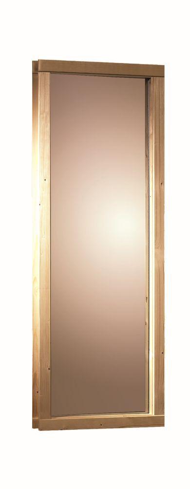 Fenster, bronziert - 68 mm