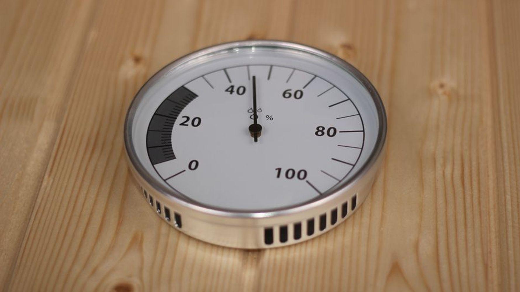 Hygrometer für Saunen