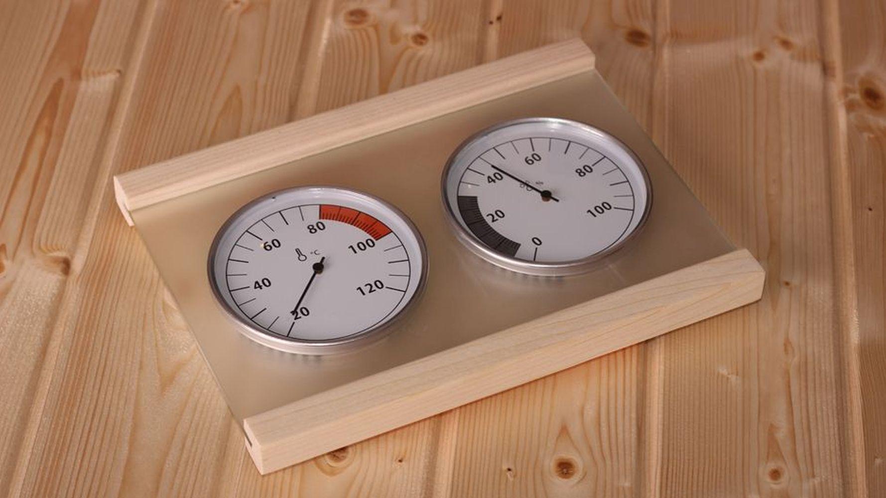 Klimamessstation für Saunen