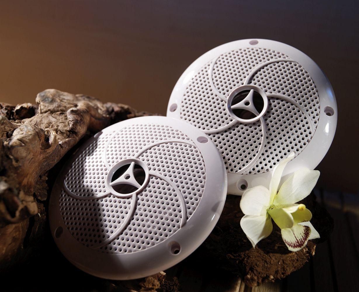 Lautsprecher für Saunen und Infrarotkabinen