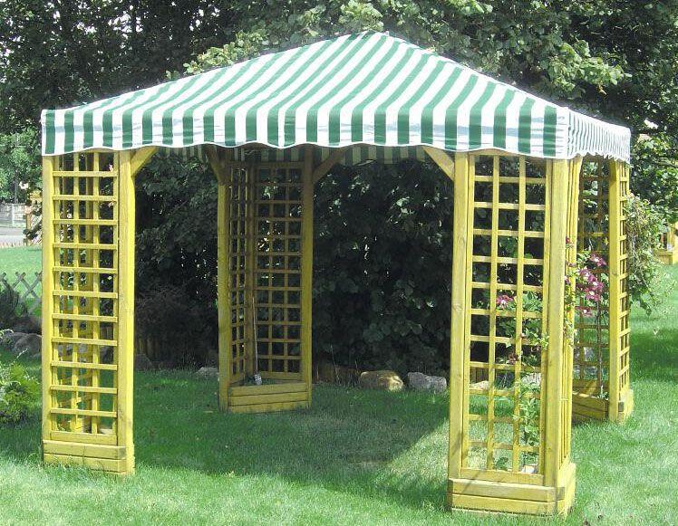 Pavillon Viticella  - Abmessung: 300 x 300 cm (L x B)
