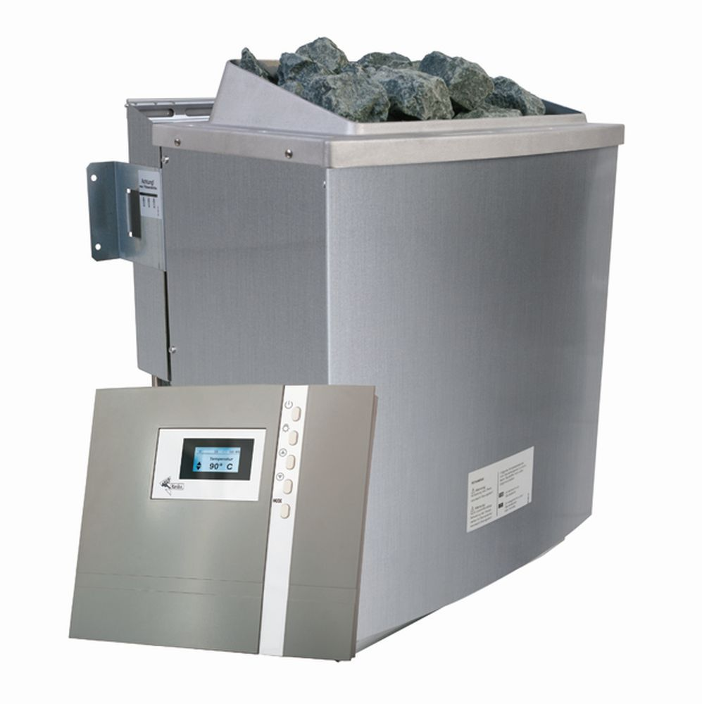 Biokombiofen 9 kW inkl. Steuergerät Premium Bio