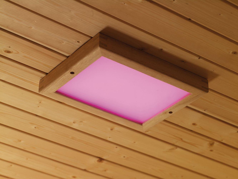LED Farblicht für Infrarotkabinen und Saunen