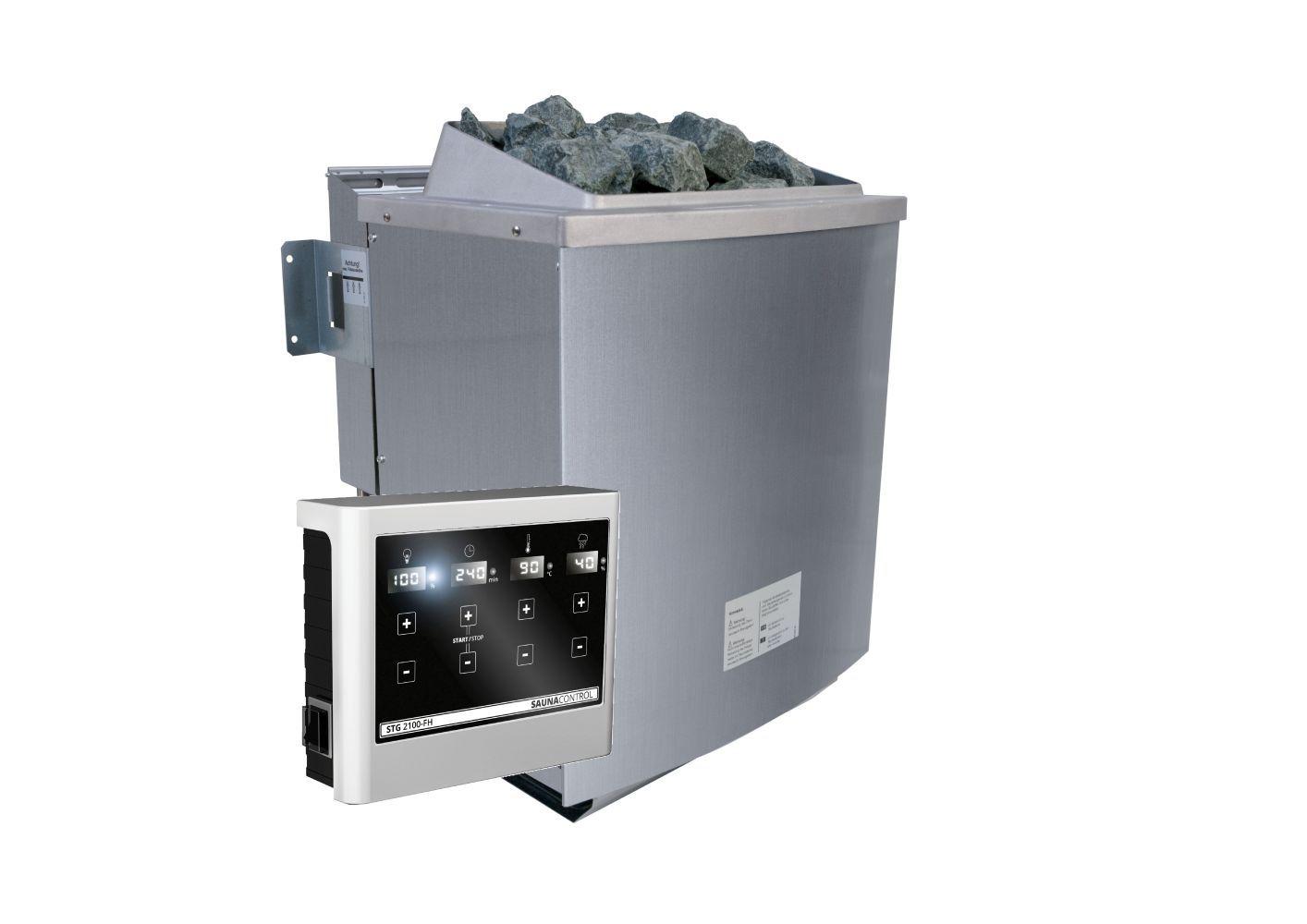 Biokombiofen 9 kW inkl. Steuergerät easy Bio
