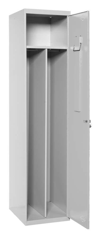 Spind Divisor 1 Abteil unmontiert, Maße: 180 x 40 x 50 cm (H x B x T) - Grundmodul