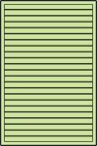 Sichtschutz für Pavillon Vitalba - Abmessung: 120 x 180 cm (B x H)