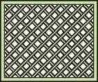 Rankgitter niedrig für Pavillon Vitalba - Abmessung: 120 x 90 cm (B x H)