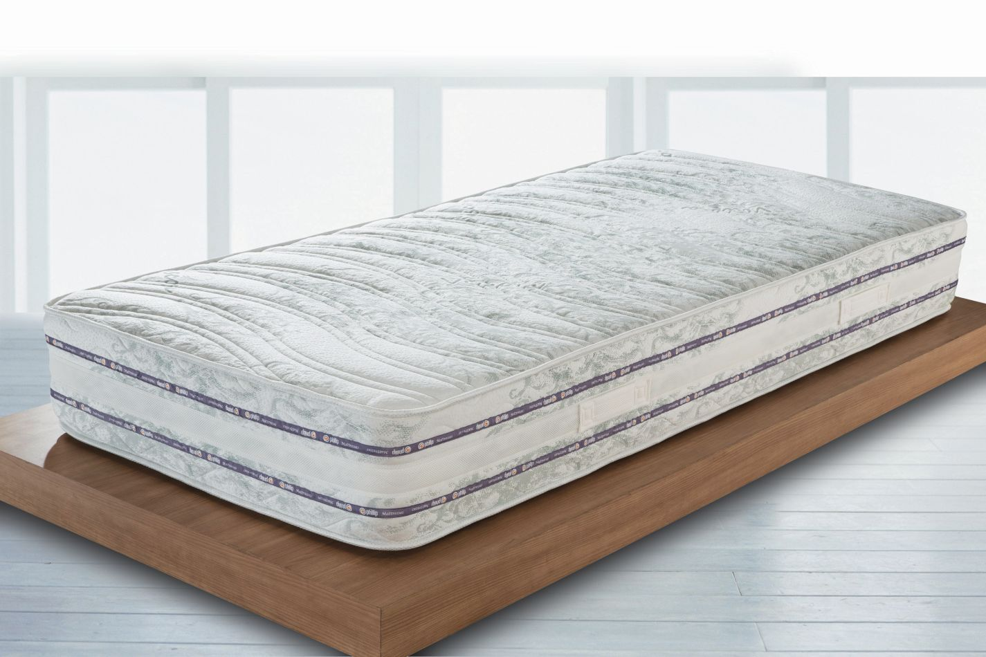 Matratze Balance mit Taschen Federkern - Abmessungen: 80 x 200 cm