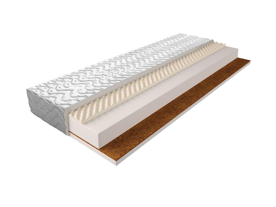 Matratze mit Schaumstoffkern 005 - Größe: 140 x 200 cm, Höhe: 17 cm
