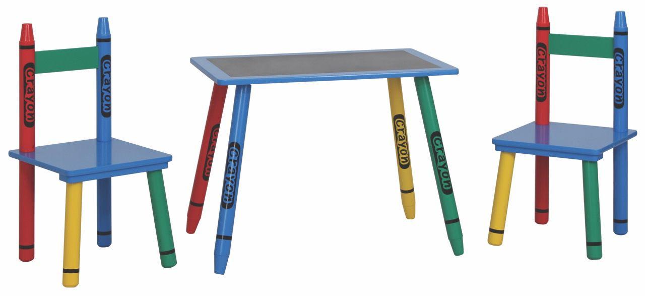 Kindersitzgruppe Matteo 04, 3-teilig, Farbe: Blau / Rot / Gelb / Grün