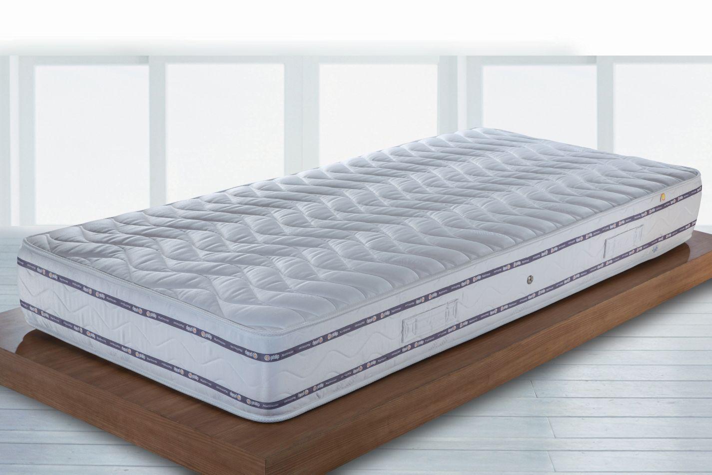 Matratze Elegance Relax mit Bonell Federkern - Abmessungen: 80 x 190 cm
