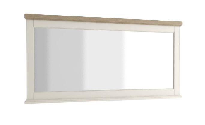 """Spiegel """"Solin"""" Eiche weiß/natur 19, teilmassiv - Abmessungen: 167 x 80 cm (B x H)"""