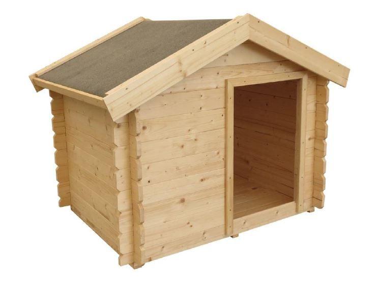 Hundehütte Molly 2 inkl. Fußboden - Maße: 113 x 84 cm (L x B)