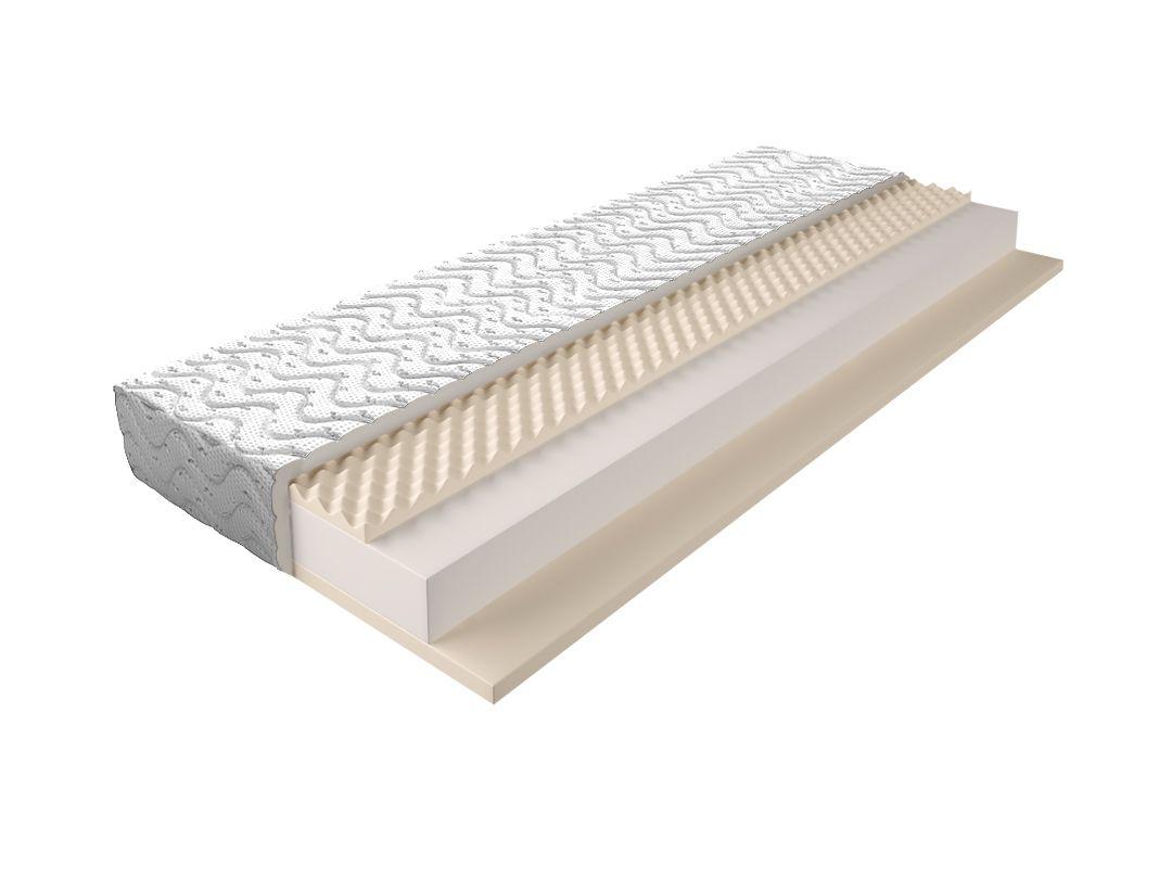 Matratze mit Schaumstoffkern 006 - Größe: 140 x 200 cm, Höhe: 16cm