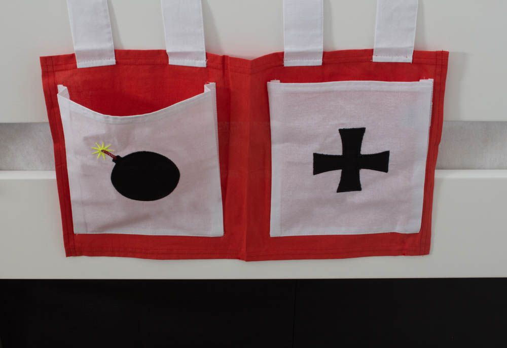 Motiv - Stofftasche - Farbe: Pirat