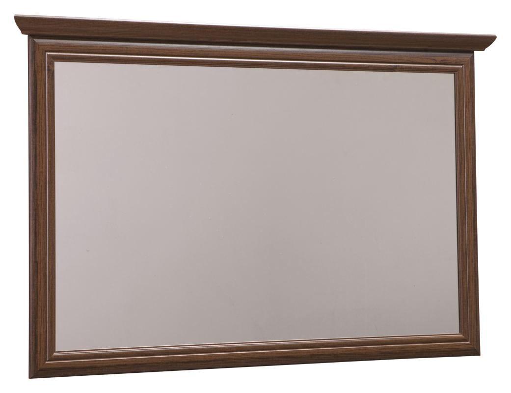Spiegel Sentis 16, Farbe: Dunkelbraun - 84 x 126 x 6 cm (H x B x T)